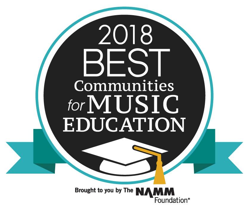 2018 Best Communities for Music Education Logo