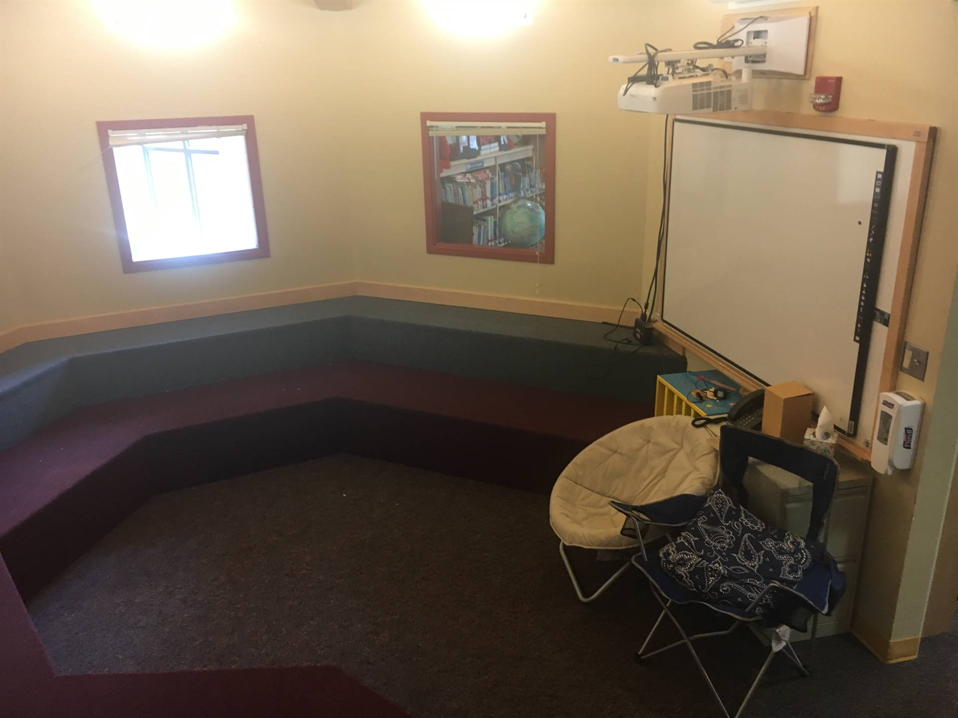 Highcliff Elementary Library Treehouse