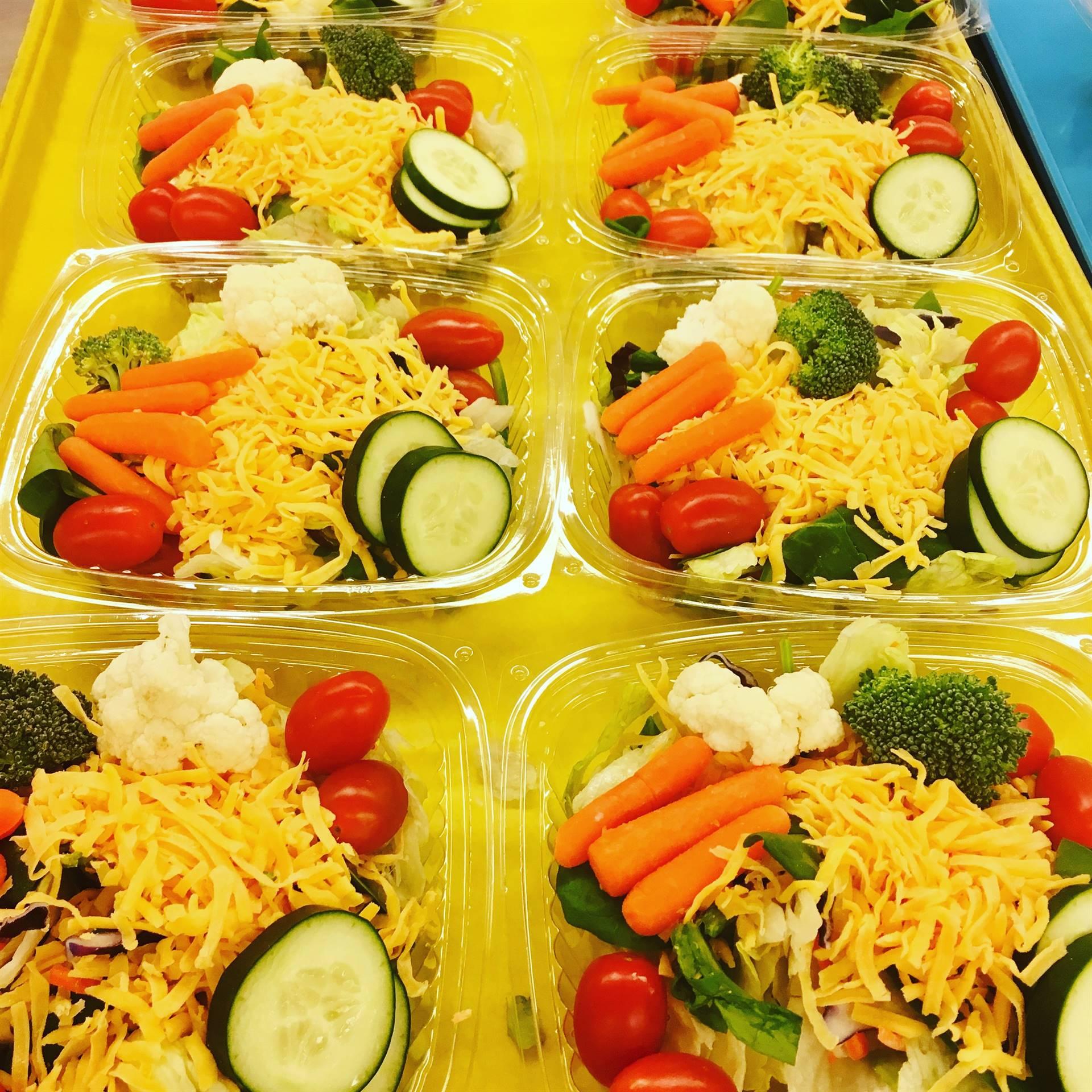 High School salads