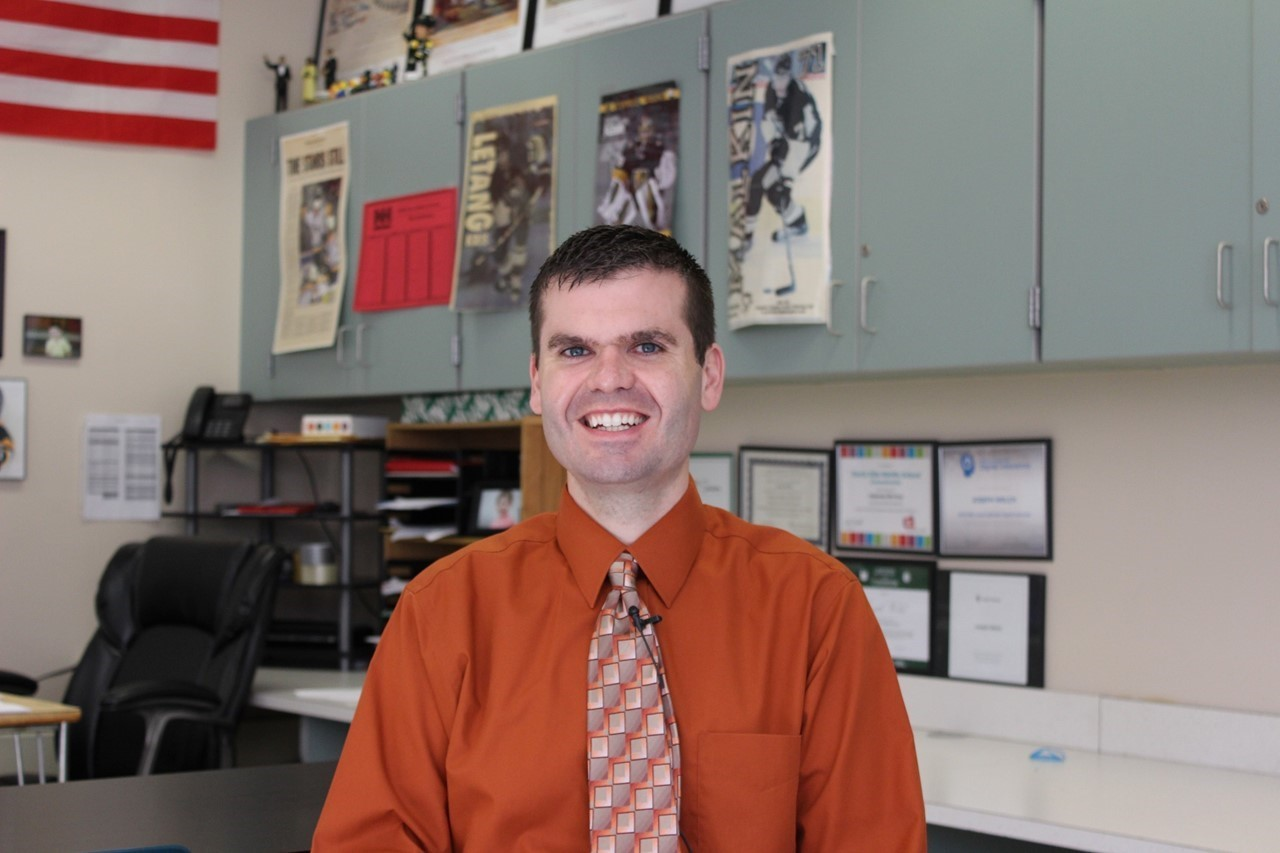 North Hills Middle School teacher Joe Welch
