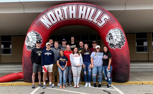 2019 North Hills college-bound student-athletes