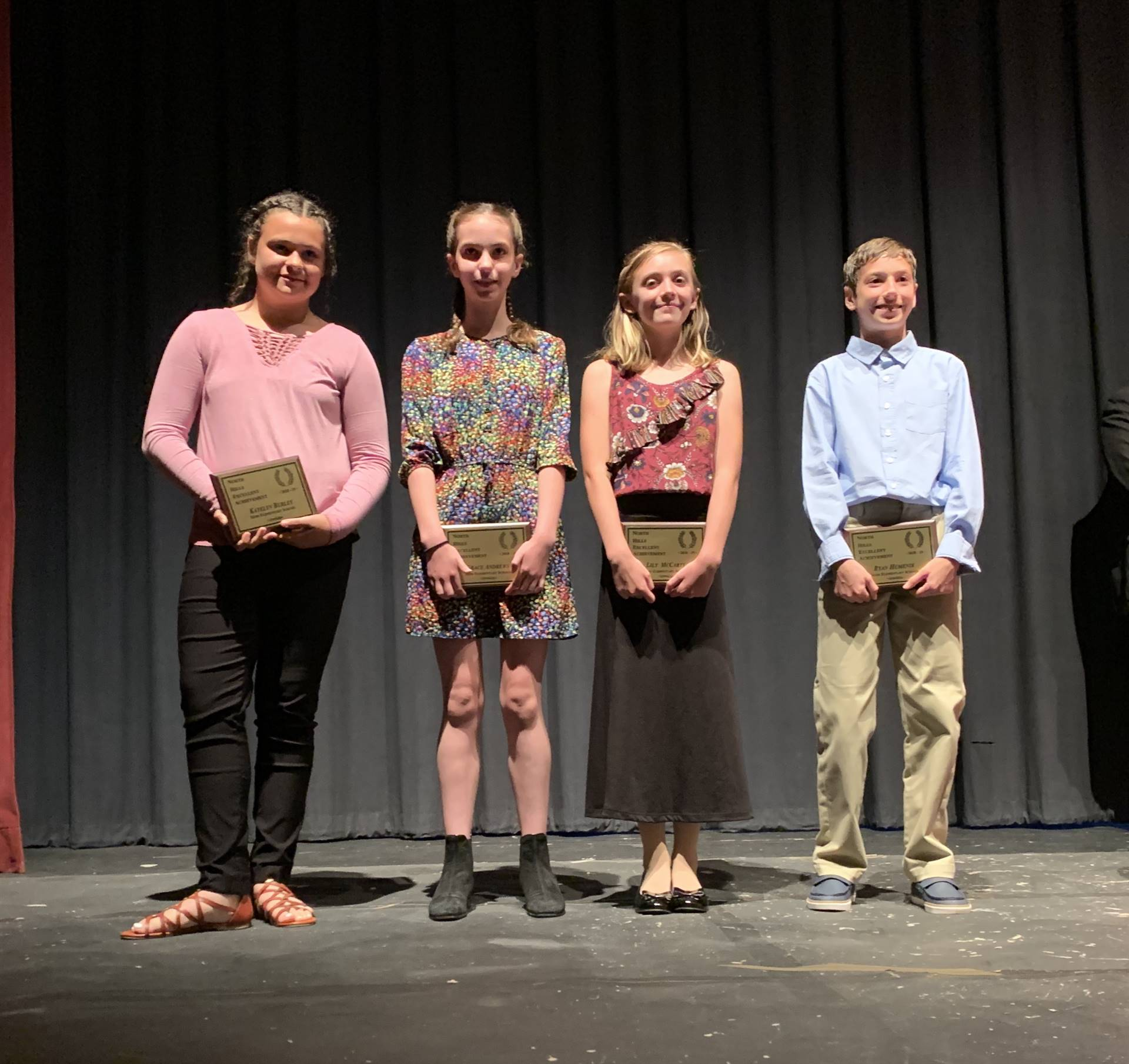 2019 NHEA Awards: Ross Elementary Winners