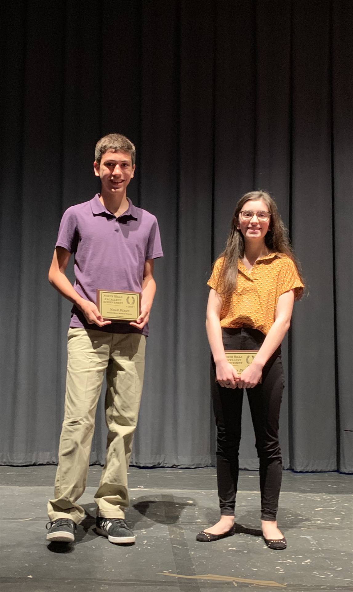 2019 NHEA Awards: Middle School Winners