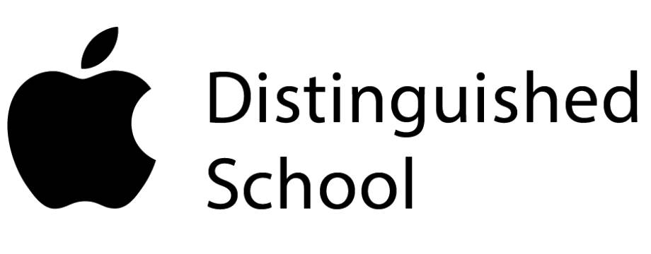 Apple Distinguished School logo