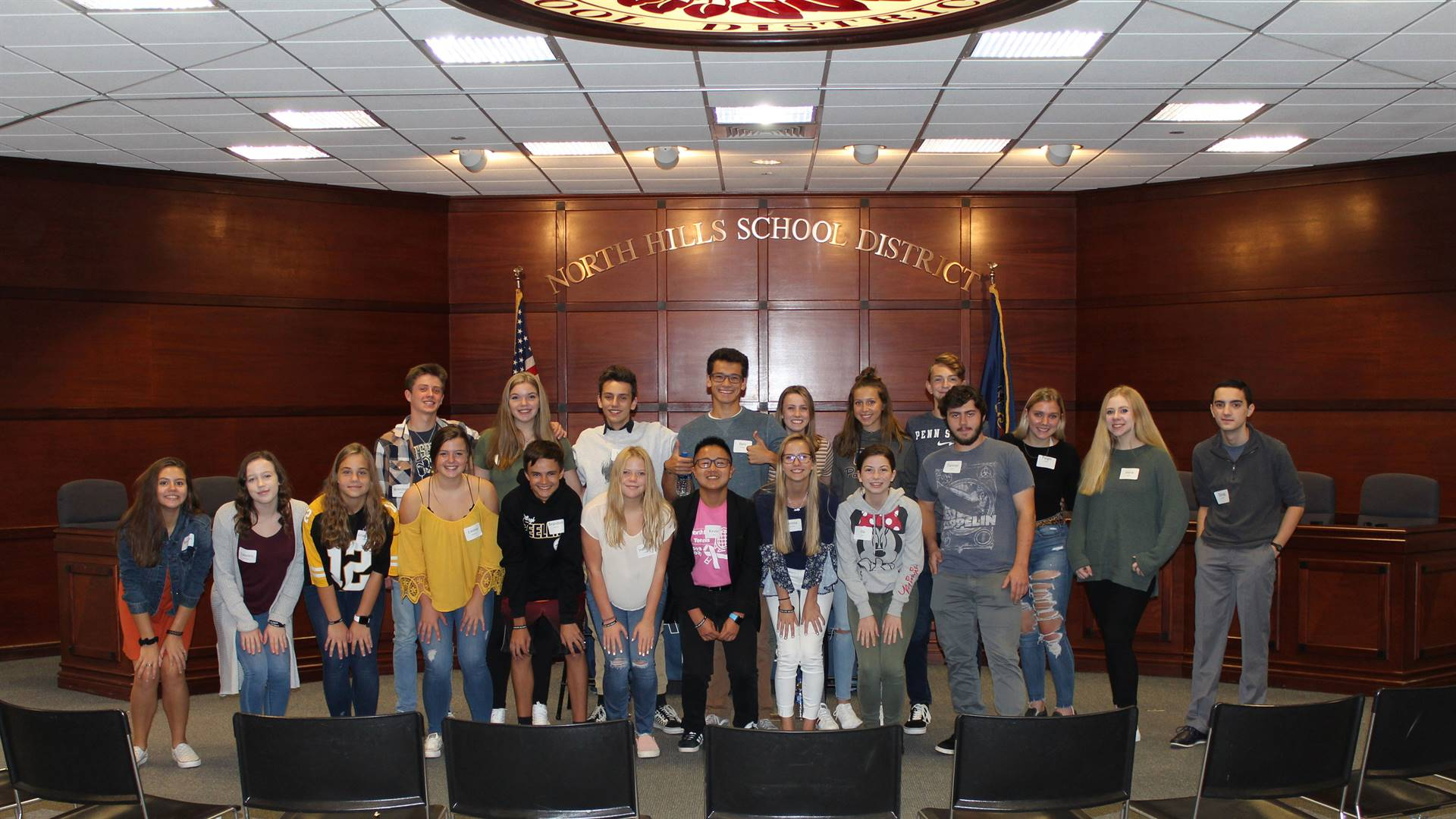 Attorney General Josh Shapiro holds Safe2Say Something discussion with students