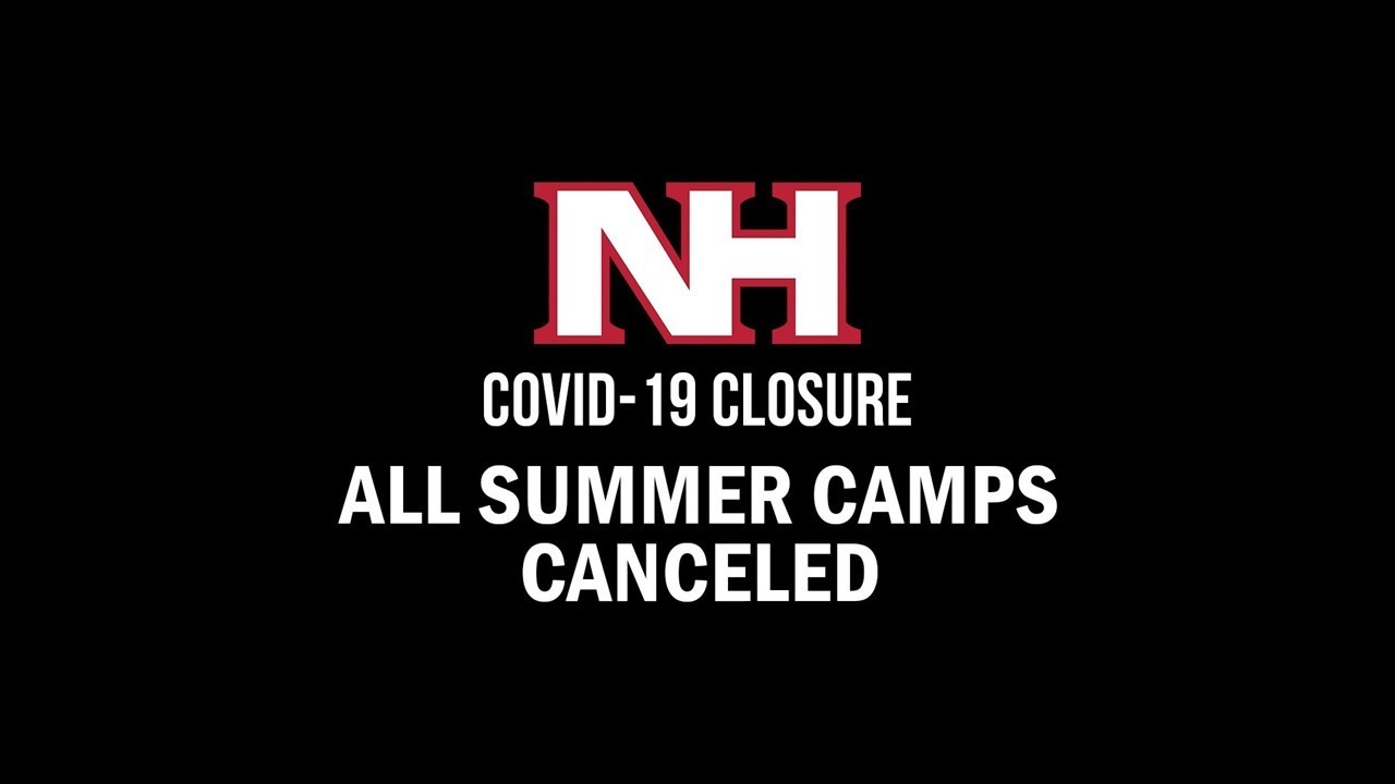 All summer camps canceled