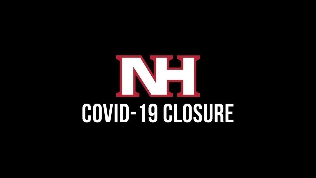 NHSD CLOSED amid coronavirus concerns graphic