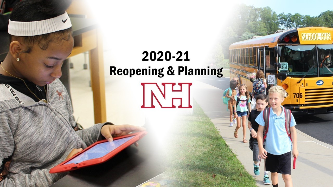 2020-21 Reopening and Planning graphic