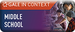 Gale in Context Middle School database logo