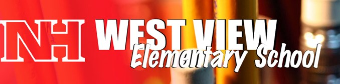 Graphic stating West View Elementary as School Name