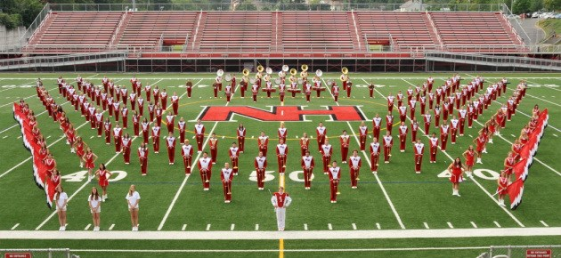 North Hills High School Marching Band