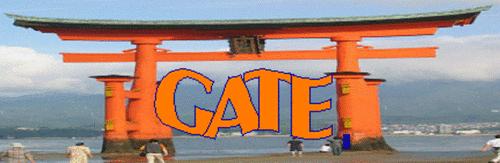 GATE logo--Japanese Shinto Gate