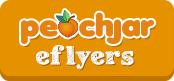 Peachjar eflyer delivery service logo